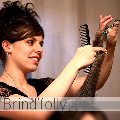 Coiffure à domicile pour femmes, hommes et enfants - Maquillage - Coloration Bio - Brind'folly - Vercors - Grenoble