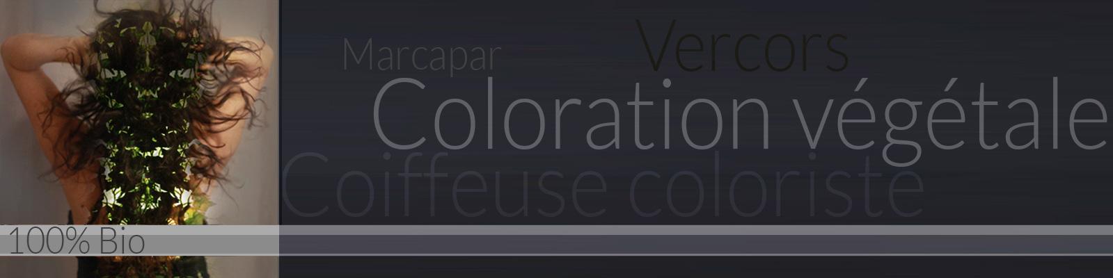Bandeau Coloration végétale - Marcapar - Les cuisiniers du cheveu - Brind'folly - Vercors - Grenoble